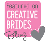 Featured on Creative Brides